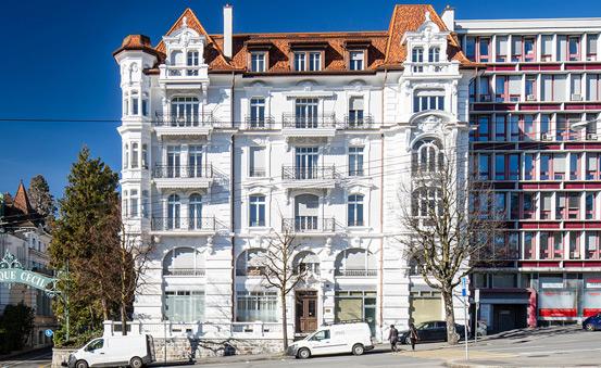 Avenue Louis-Ruchonnet 55 - Generali Real Estate - Premium Properties